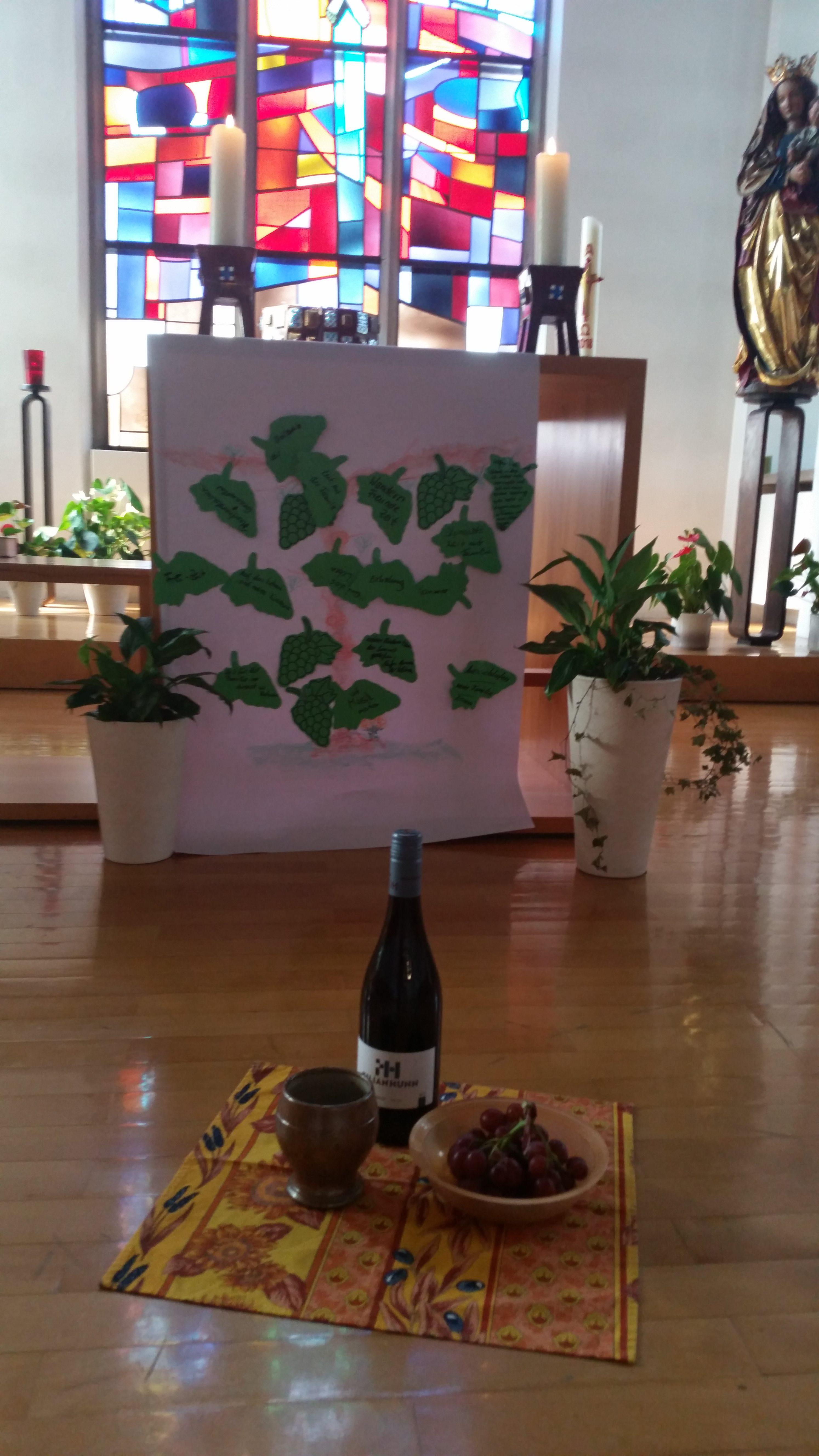 Trauben, Wein, Becher